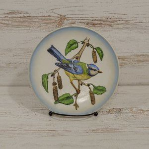 W. Goebel West Germany 1974 Blue Titmouse Plate